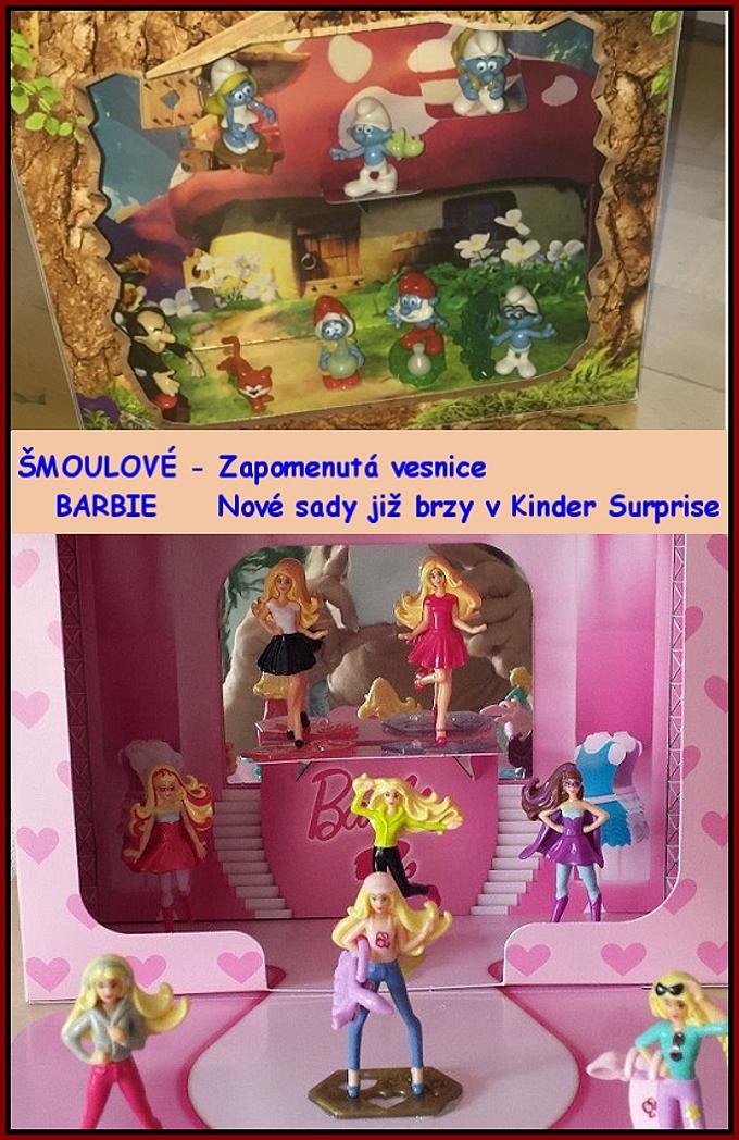 Šmoulové + Barbie