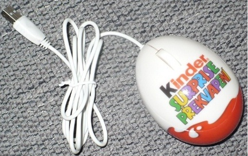 Kinder surprise myška